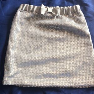 Nautica sequence 3t silver skirt